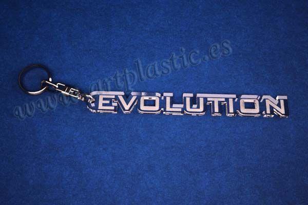 llaveros personalizados baratos evolution