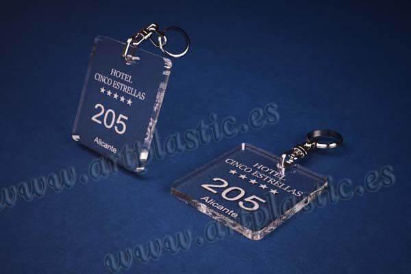 llaveros personalizados cuadrados 50x50 5mm
